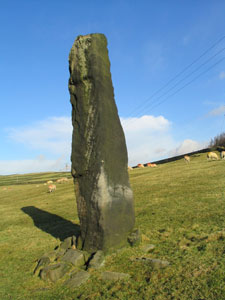 Standing Stone at Dobroyd Castle